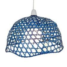 33 cm Lampenschirm aus Korbgeflecht