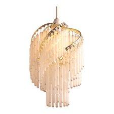 22 cm Lampenschirm Glass Tube aus Glas