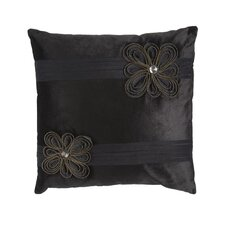 Zippers Flower Throw Pillow