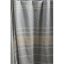 Rippled Stripe Cotton Shower Curtain
