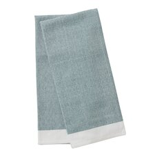 Diamond Chambray Kitchen Towel (Set of 2)