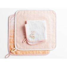 Muslin Wash Cloth (Set of 3)