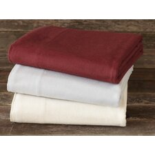 Cloud Brushed Flannel Flat Sheet