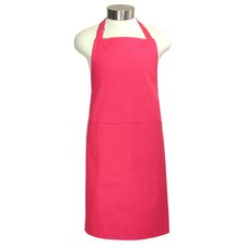 "MUincotton 35"" Full Apron in Crimson"