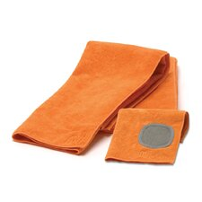 MUmodern 3 Piece Dishtowel Set in Orange