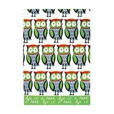 Owl Designer Print Towel (Set of 2)