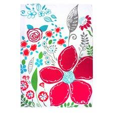 Wildflowers Designer Print Towel (Set of 2)