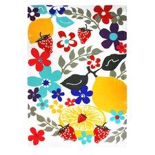 Fruit Salad Designer Print Towel (Set of 2)
