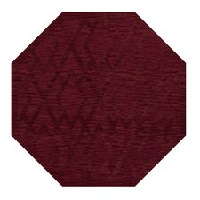 Dover Rich Red Area Rug