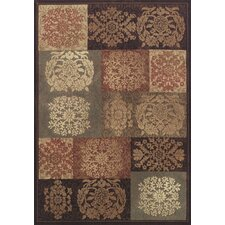 Capri Sable / Grey Patchwork Area Rug
