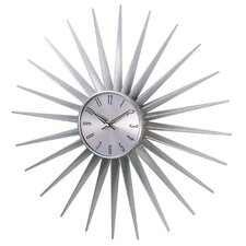 "24"" Sunburst Wall Clock"