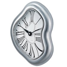 George Nelson by Verichron Melted Metal Wall Clock