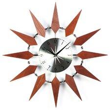 "19.5"" Starburst Wall Clock"