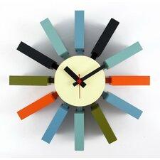"""11.4"""" Block Wall Clock"""