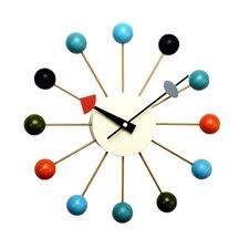 "13"" Ball Wall Clock"