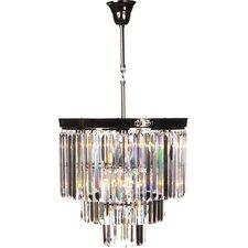 The Vanersborg 1 Light Crystal Chandelier