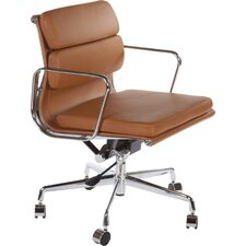 Catania Mid-Back Leather Office Chair