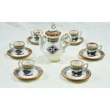 Amazigh 13 Piece Coffee Set