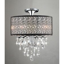 Nox 4 Light Drum Chandelier