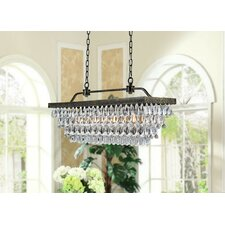 Hemera 4 Light Crystal Chandelier
