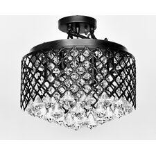 Leto 4 Light Semi Flush Mount