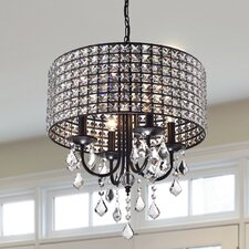 Chione 4 Light Drum Chandelier