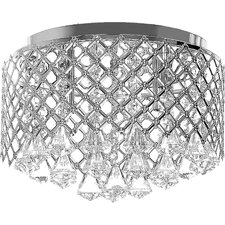 Acamar 4 Light Flush Mount