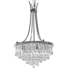 Bacchus 5 Light Crystal Chandelier
