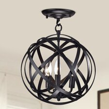Metis 3 Light Semi-Flush Mount