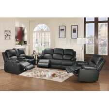 Amado 3 Piece Reclining Living Room Set