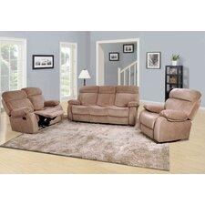 Amida 3 Piece Living Room Set