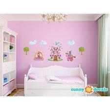 Princess Fabric Wall Decal