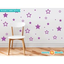 Stars Fabric Wall Decal