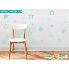Stars Fabric Wall Decal
