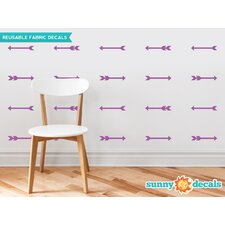 Arrows Fabric Wall Decal (Set of 24)