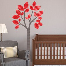 Modern Tree Fabric Wall Decal