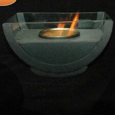 Semicircle Gel Fuel Fireplace