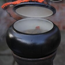 Round Cast Iron Cooking Pot