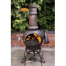Toledo Cast Iron Chiminea