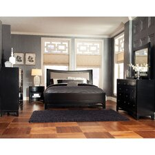 Memphis Sleigh Customizable Bedroom Set