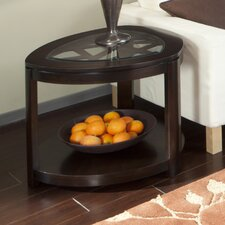 Crackle End Table