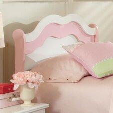 Bubblegum Sleigh Headboard