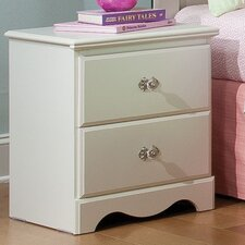 Daphne 2 Drawer Nightstand