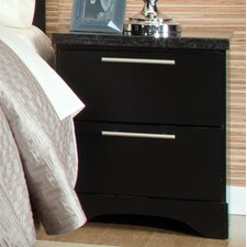 Atlanta 2 Drawer Nightstand