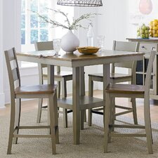 Pendleton 5 Pieces Counter Height Dining Set