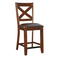 "Omaha 25.25"" Bar Stool with Cushion (Set of 2)"