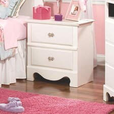 Gabriella 2 Drawer Nightstand