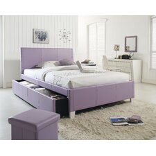 Fantasia Panel Bed with Trundle
