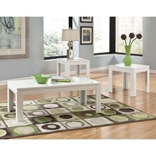 Outlook 3 Piece Coffee Table Set