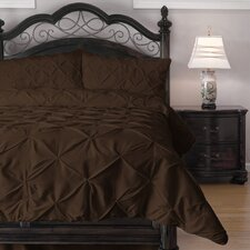 Pinch Pleat Comforter Set